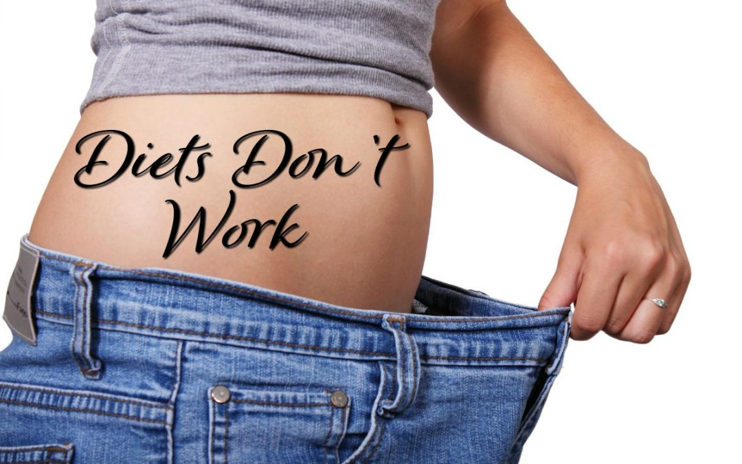 Diets don't work: How to Stop Dieting and Create a Lifestyle Change for Real Results
